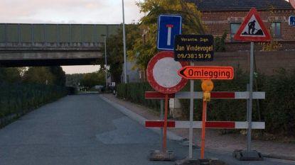 Loskadestraat drie weken afgesloten