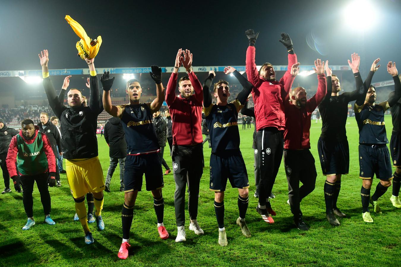 L'Antwerp peut encore espérer remporter la Coupe de Belgique