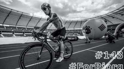 Rugnummer 143 van Bjorg Lambrecht wordt niet meer opgespeld in Ronde van Polen