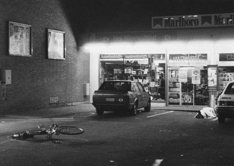 Bij de overval die de Bende van Nijvel op vrijdag 27 september 1985 pleegde op de Delhaize van Overijse vielen vijf doden.