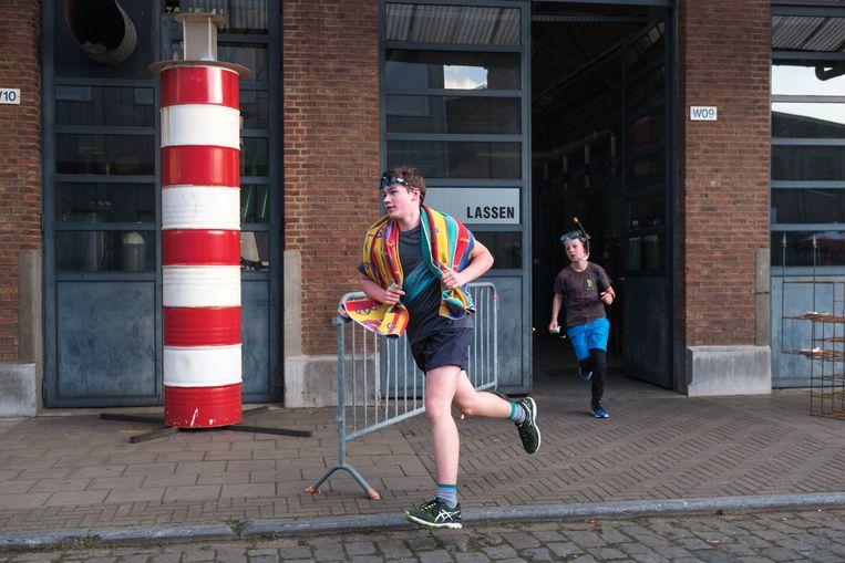 PTS Boom organiseert zijn Trail Run, een loopevenement doorheen de schoolgebouwen.