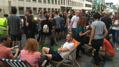 Collectief Bruxsel'air organiseert after work op de Wetstraat