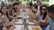 Langste veggietafel komt naar Genk