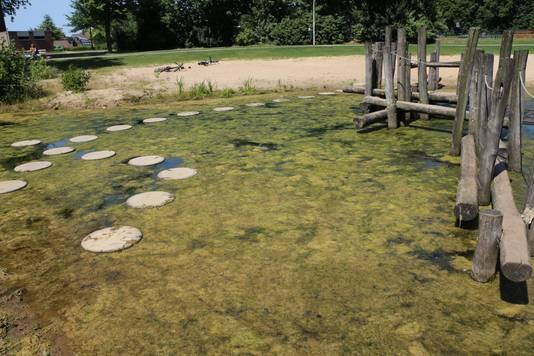 Bij de waterspeelplaats 't Floddertje in Lindenholt is al vaker botulisme aangetroffen. Ook algen maakte de speelplaats al eerder onaantrekkelijk.