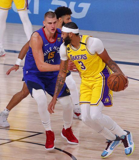 Les Lakers poursuivent sur leur lancée face à Denver