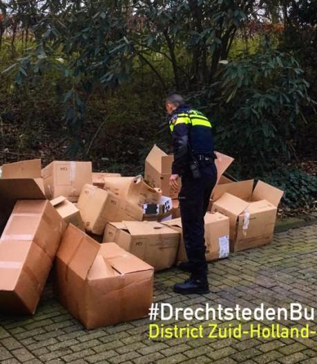 Drugsafval gedumpt bij begraafplaats in Zwijndrecht