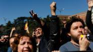 Ruim 6.500 mensen betogen tegen Catalaanse onafhankelijkheid in Barcelona