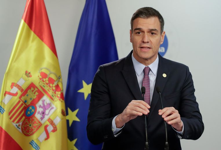 Spaans premier Pedro Sanchez kan zonder ongelukken volgende week dinsdag aan de slag met zijn nieuwe regering.