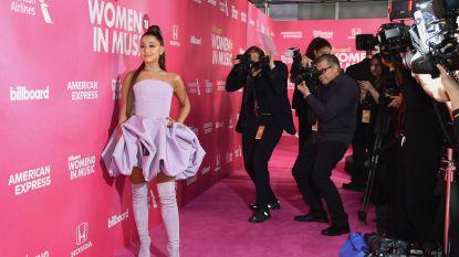 Geëmotioneerde Ariana Grande neemt Woman of the Year-award in ontvangst