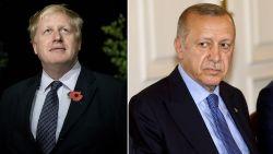 """Johnson krijgt felicitaties van Turkse president Erdogan die hij ooit toedichtte dat hij """"zaad"""" zaaide """"met behulp van geit"""""""