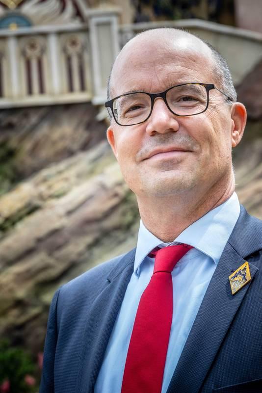 Directeur Fons Jurgens van de Efteling.