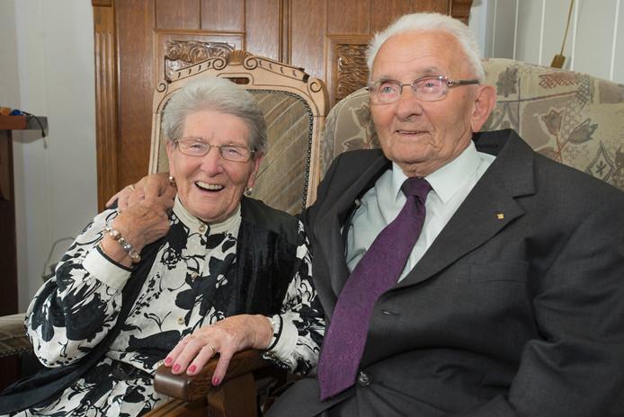 Henk en Marie Elberse.