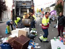 Schoonmakers ruimen binnen paar uur 150.000 kilo afval op