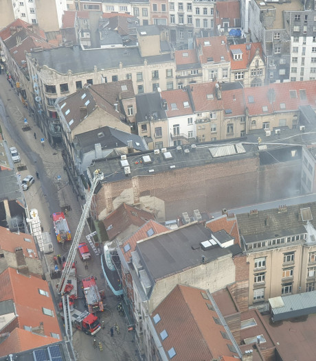 Incendie au Mirano à Bruxelles