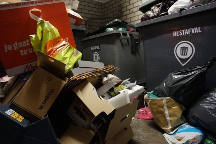 Afval in de Katterug