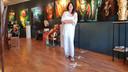 Sylvia Reijbroek, eigenaresse van galerie Kunst vol Leven.