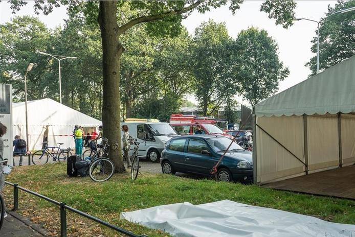 Onwelwording eerstejaars in Nijmegen.