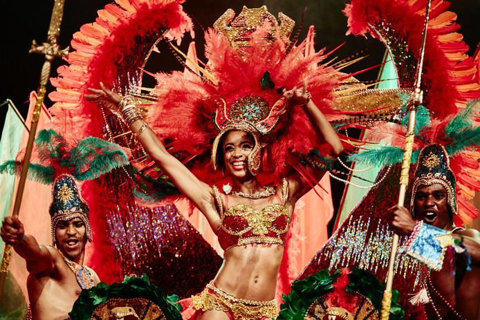 Whitney van Ommeren, de Queen van het Zomercarnaval 2015.