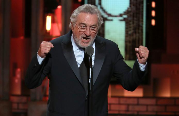 Robert De Niro bij de Tony Awards