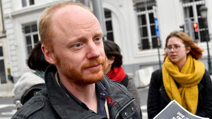 Nicolas Van Nuffel, président de la Coalition Climat.