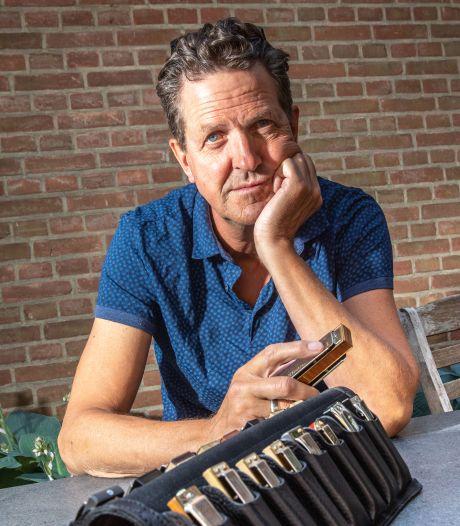 Bluesmuzikant Klaas Vermeulen uit Zwolle overleden: 'Waanzinnig goede mondharmonicaspeler'