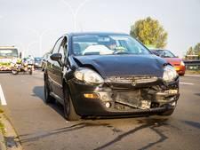File en laagstaande zon oorzaak ongeluk met gewonde in Zwolle