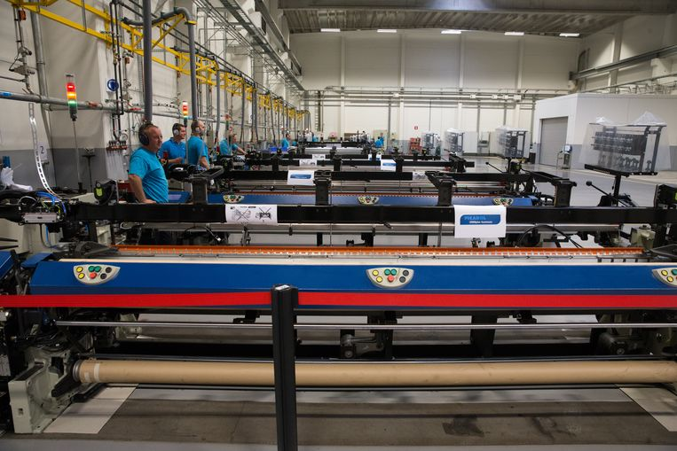De productieafdeling van Picanol ligt grotendeels stil na een cyberaanval