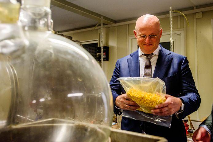 Minister Grapperhaus op werkbezoek in Eindhoven