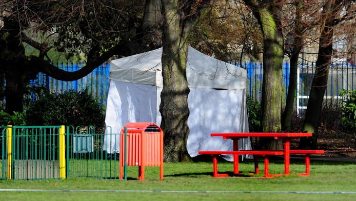 Het bewuste Elmfield Park in Doncaster. © Brunopress