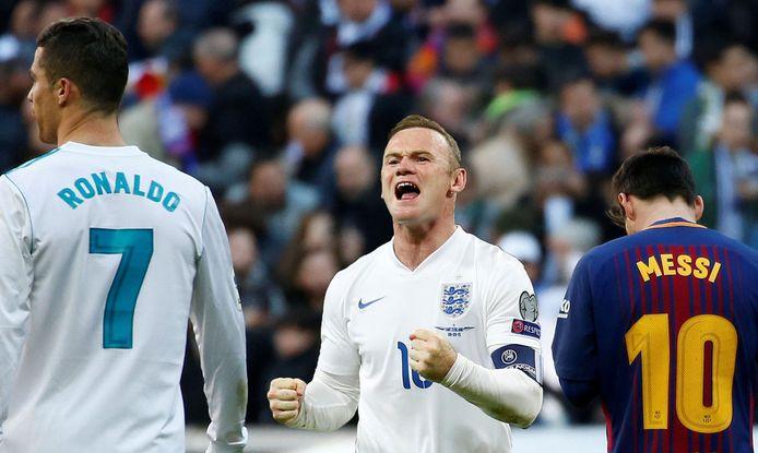 Wayne Rooney sprak zich uit in het eeuwige debat rond Lionel Messi en Cristiano Ronaldo