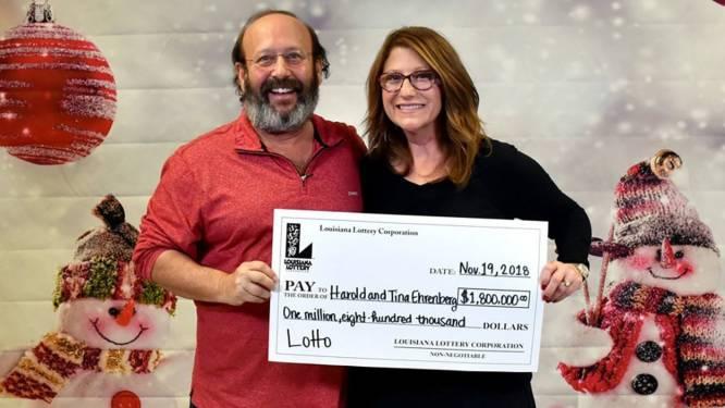 """Koppel houdt grote schoonmaak en vindt winnend lottoticket: """"Plots 1,8 miljoen rijker"""""""