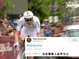 Dumoulin reageert op tijdritporno-tweet: 'Als het snel is, is het vaak mooi'