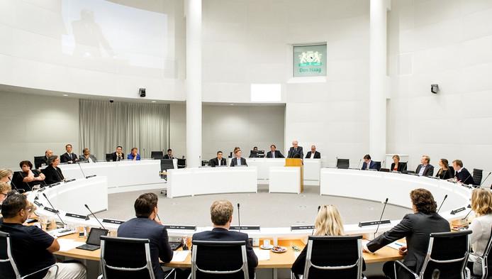 De Haagse gemeenteraad, hier op een archieffoto
