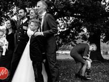 Hilarische bruidsfoto van fotografe uit Luttelgeest wint prijs
