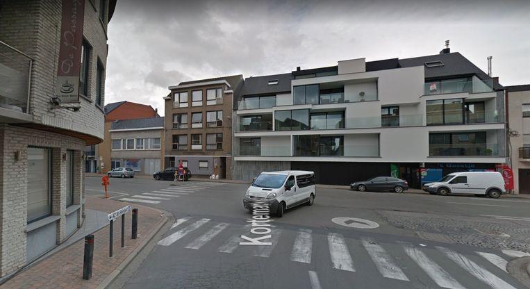 Het kruispunt Kortemarkstraat-Rijselstraat vormt het begin van de grootschalige werken.