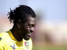 Emmanuel Adebayor verlengt carrière in Paraguay