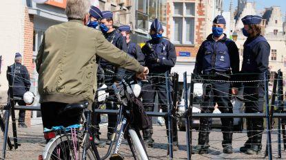 300 agenten opgetrommeld voor 150 actievoerders: stad Mechelen hele dag in staat van paraatheid voor verboden manifestatie