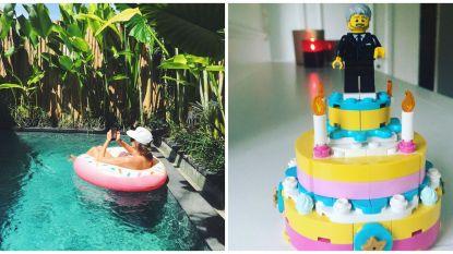 SHOWBITS. Eva Daeleman heeft geen last van corona en Kürt Rogiers viert een eenzame verjaardag