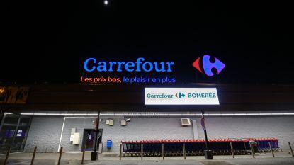 """Eerste samenkomst tussen directie en vakbonden sinds aankondiging zware herstructurering Carrefour verloopt """"gespannen"""""""