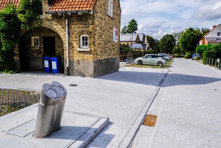De eerste ondergrondse glasbol op Iepers grondgebied komt in Zillebeke.