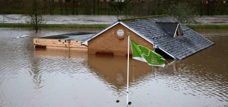 Storm Dennis zet stad van Bossche bevrijders onder water