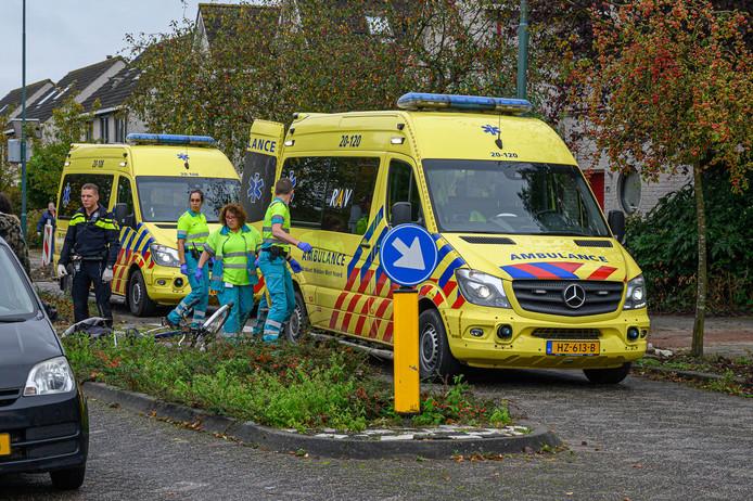 fietsster aangereden Lindonk Zevenbergen.