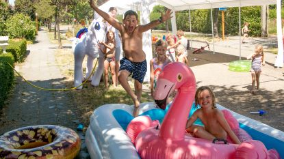 """""""Zwembad op straat, heerlijk!"""": stad telt vier speelstraten deze zomer"""