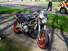 Traumahelikopter uitgerukt voor gevallen motorrijder in Wijchen