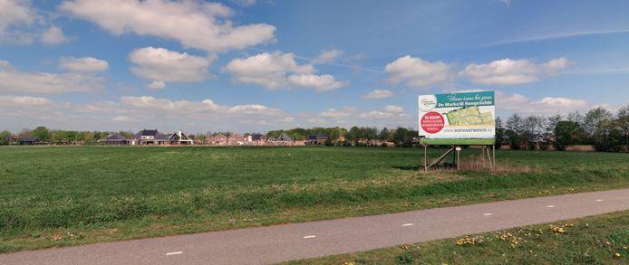De Marke III. Nieuwbouwwijk in Hengevelde