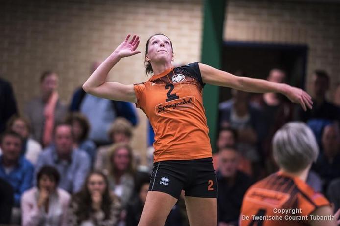 Kirsten Oude Luttikhuis was goed voor 20 punten.