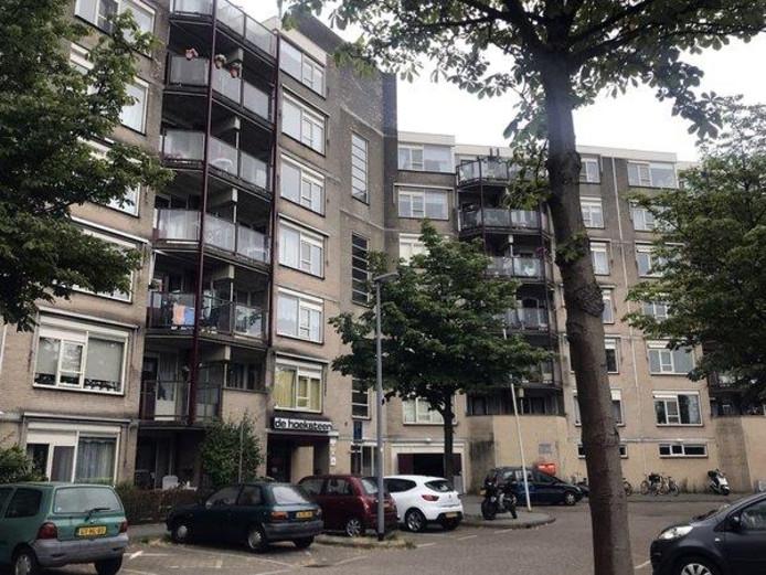 overlast seniorencomplex De Hoeksteen aan de Mombassaplaats Oosterflank