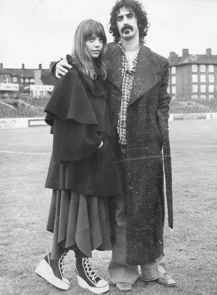 Frank en Gail Zappa begin jaren zeventig.
