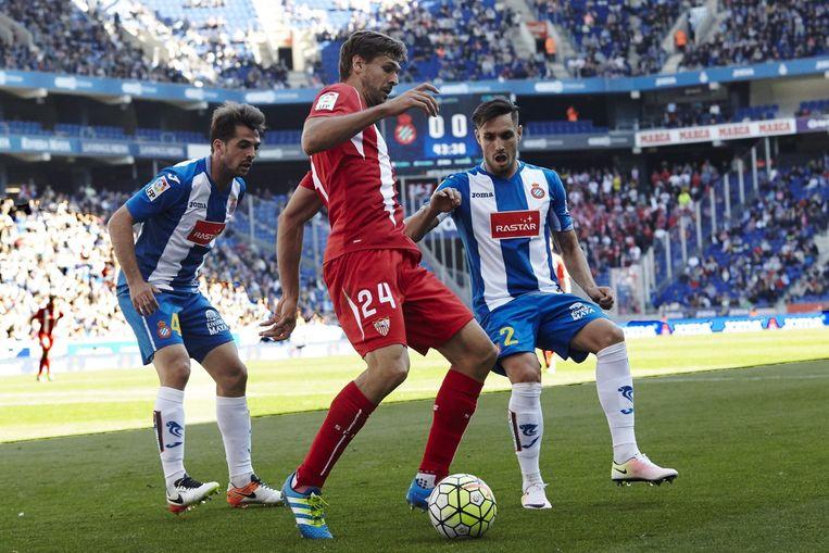Sevilla speelt donderdag in de beslissende halve finale van de Europa League. Beeld null