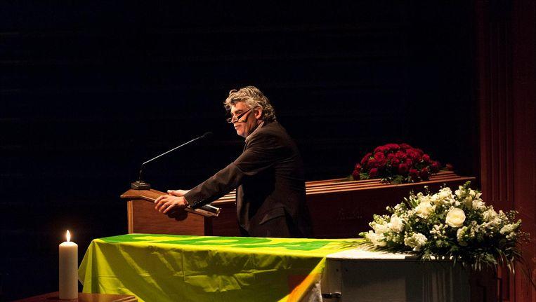 Rob Oudkerk nam in 2012 op een symbolische bijeenkomst in De Balie al afscheid van de PvdA en het CDA Beeld anp